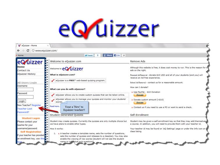 Equizzer – Online Paperless Assessment